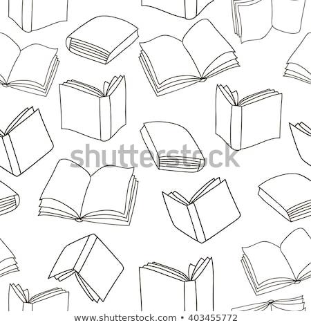 Boeken vector abstract achtergrond Stockfoto © popaukropa