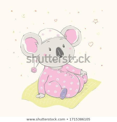 girl dressed as koala stock photo © is2