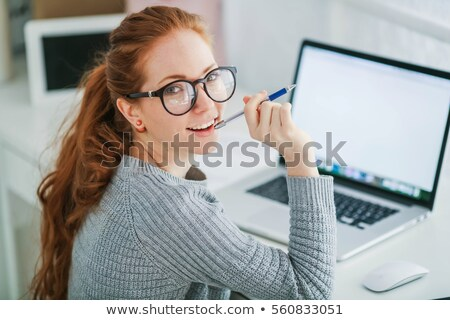 довольно · молодые · женщины · оптик · глазах - Сток-фото © wavebreak_media