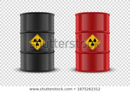 Danger 3d Glossy Vector Icon Design Stock photo © rizwanali3d