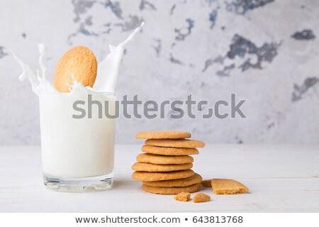 古い ファッション クッキー ミルク 食品 セット ストックフォト © Walmor_