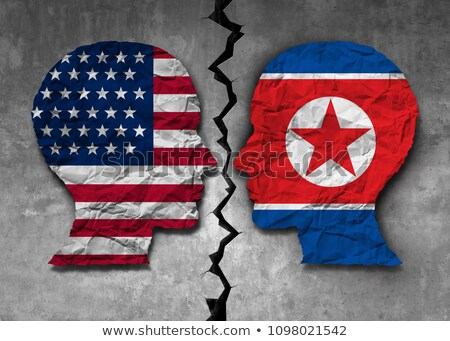 North Korean American Challenge Stock photo © Lightsource