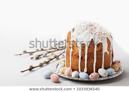 Пасха · православный · Sweet · хлеб · красочный · яйца - Сток-фото © Melnyk