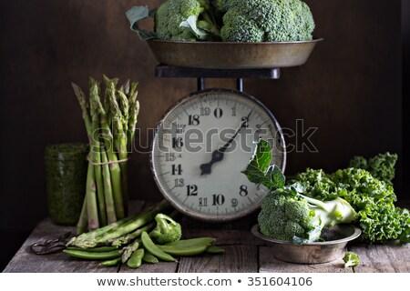 新鮮な 緑 エンドウ ヴィンテージ スケール 古い ストックフォト © Melnyk