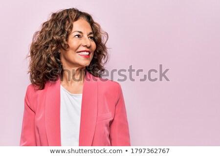 tunika · középső · szett · nők · megnyugtató · vakáció - stock fotó © toyotoyo