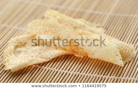 Delicatezza superficie torta pane mangiare Foto d'archivio © bdspn