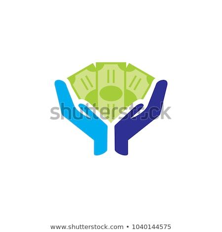 moedas · dólar · dinheiro · lucro · negócio · vetor - foto stock © lenm