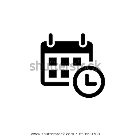 Calendar Dates and Days Icon Vector Illustration Stock photo © robuart