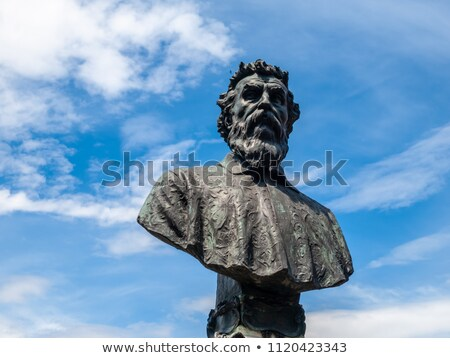 estátua · florence · Itália · ver · europa · cultura - foto stock © boggy