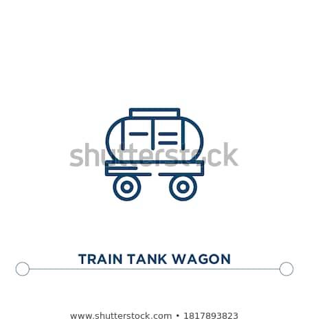 油 鉄道 タンク アイコン 色 デザイン ストックフォト © angelp