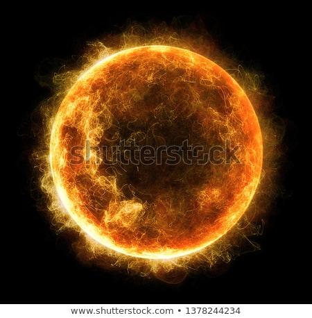 Erő gömb illusztráció energia labda jövő Stock fotó © guffoto