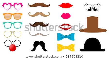 Funny Glasses - Photo Object Stock photo © CrackerClips