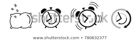 Sleep time icon set Stock photo © netkov1