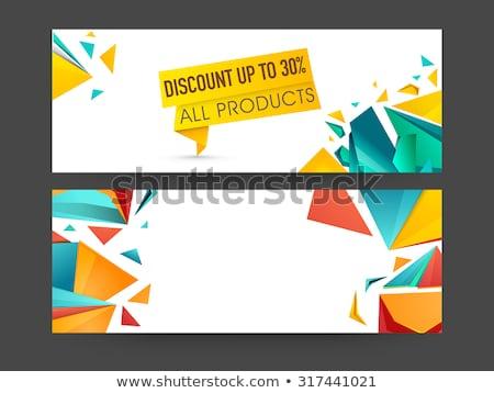 Venda produtos promoção clientes Foto stock © robuart
