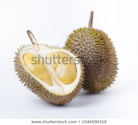 Malaysia famous fruits durian musang king Stock photo © szefei