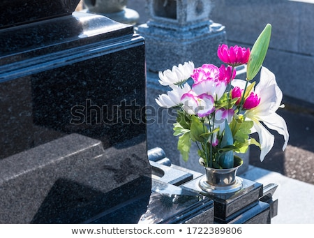 Ouest grave illustration style bible dieu Photo stock © Blue_daemon