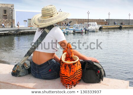 People on Vacation, Airport Seaside and Old Town Stock photo © robuart