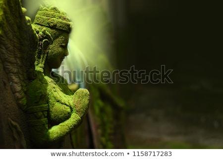 Posąg bogini Tajlandia włosy Tygrys Zdjęcia stock © vapi