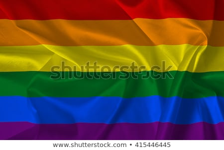 Eşcinsel transseksüel gurur bayraklar gökyüzü Stok fotoğraf © nito