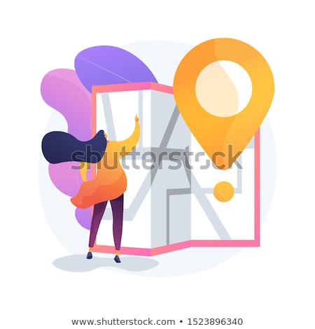 Journey route planning vector concept metaphor Stock photo © RAStudio