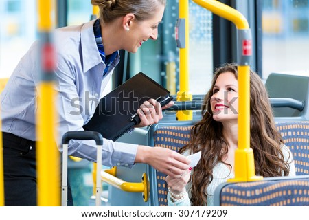 Ticket inspector Stock photo © photography33
