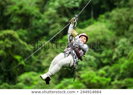 Zip wire Stock photo © trgowanlock