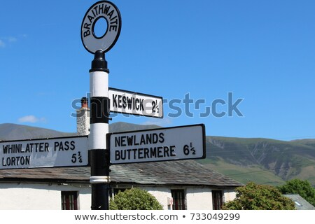 Newlands Pass in Lake District in England Stock photo © backyardproductions