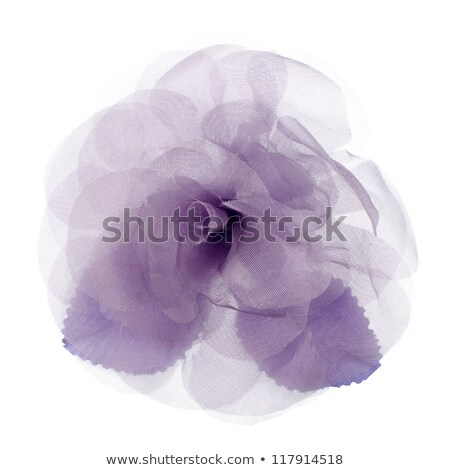 Purple Fabric Flower Foto stock © homydesign