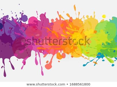 heldere · abstract · kleur · papier · textuur · verf - stockfoto © butenkow