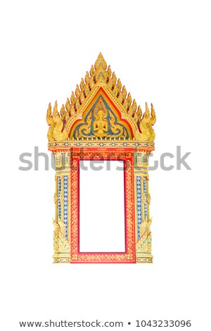 тайский · храма · крыши · традиционный · дома - Сток-фото © bbbar