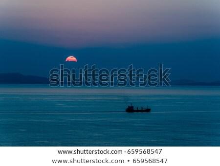 cargo · gibraltar · vue · affaires · mer - photo stock © anbuch