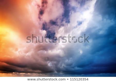 дождь · бурный · океана · небе · воды - Сток-фото © lovleah