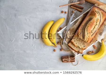 Sliced walnut bread Stock photo © raphotos