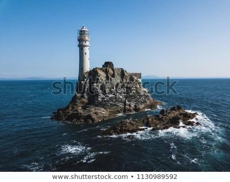 Foto stock: Faro · rock · corcho · Irlanda · edificio · luz