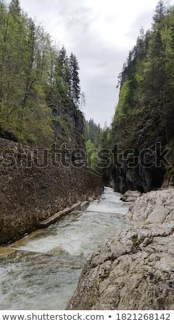 Waterfall on Bicaz River Stock photo © igabriela