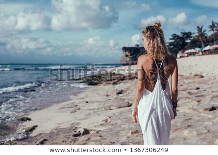 Portrait of the girl at the sea Stock photo © Paha_L
