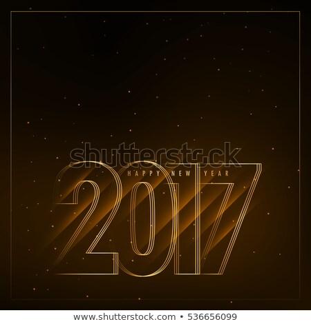 Capodanno diagonale luci felice sfondo wallpaper Foto d'archivio © SArts