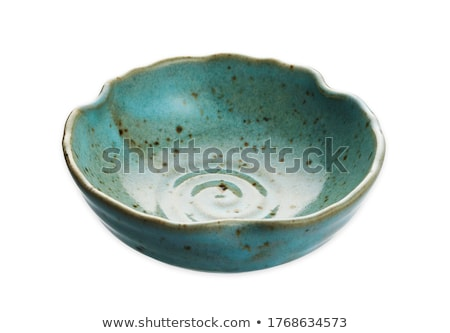 scalloped edge bowl Stock photo © Digifoodstock
