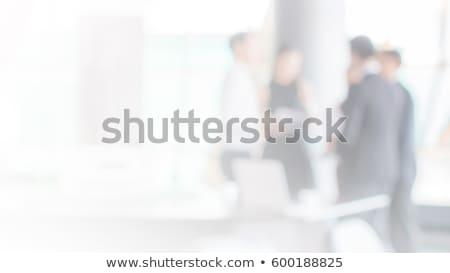 ぼかし ビジネス 群衆 ビジネスマン 現代 都市 ストックフォト © stevanovicigor
