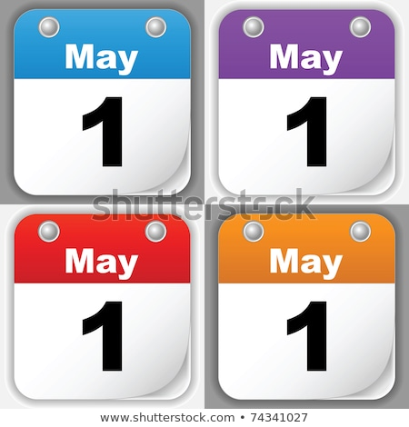 icon · kalender · spiraal · jaar · 3d · illustration - stockfoto © oakozhan