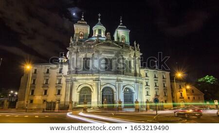 Real Basílica de San Francisco el Grande in Madrid Stock photo © boggy