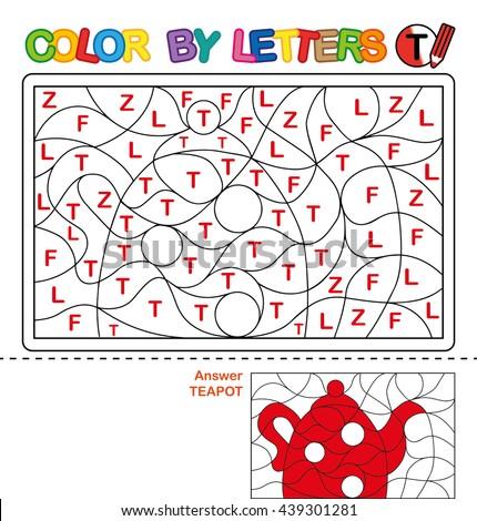 Letra t bule crianças crianças educação carta Foto stock © colematt