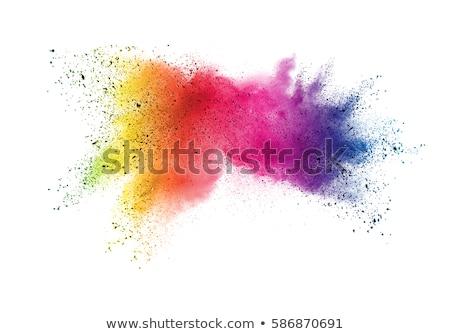 happy holi colors splatter festival background Stock photo © SArts
