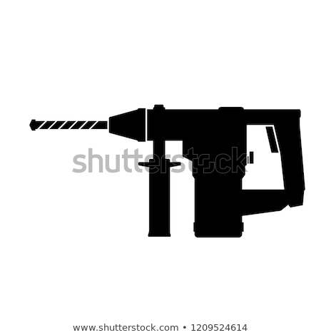 Electric perforator icon Stock photo © angelp