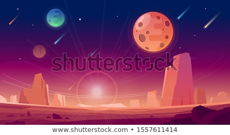 A space game template Stock photo © bluering
