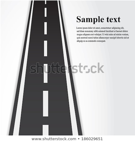 roadway background with text space Stock photo © SArts