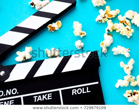 Movie Award for Best Film and Action, Popcorn Stock photo © robuart