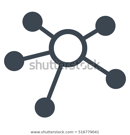 Site related vector glyph icon. Stock photo © smoki