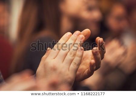 isolado · branco · mãos · negócio - foto stock © pakhnyushchyy