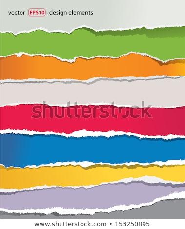 purple torn strip background Stock photo © nicemonkey
